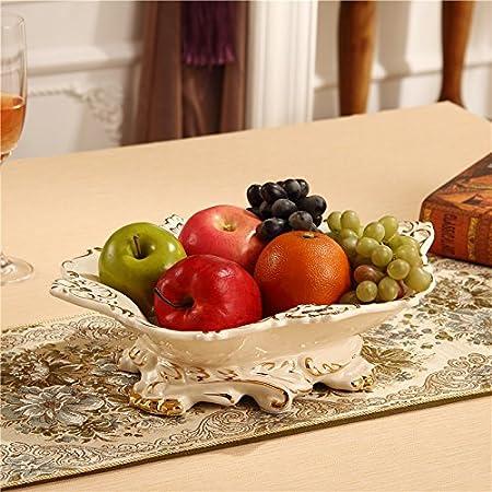 GXS European fruit plate / ceramic fruit plate / luxury high-grade ...