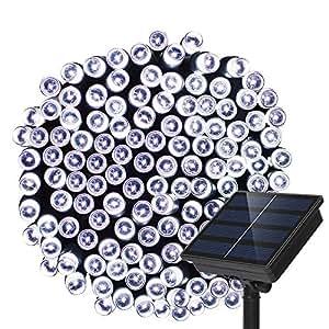 Dolucky Solar String Lights, 72ft 200 LED 2 Mode