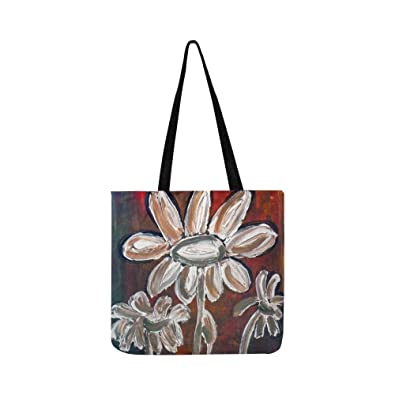 Amazon Com Painted Daisies Acrylic Paint Canvas Abstract