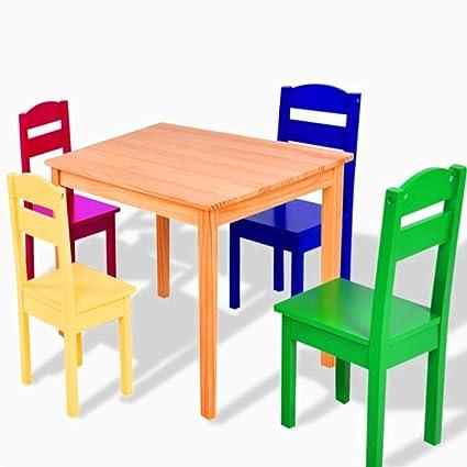 Swell Amazon Com Sts Supplies Ltd Kids Dinette Set Table Chair Short Links Chair Design For Home Short Linksinfo