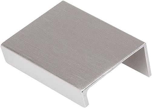 Hickory Hardware C02H075749-AL Austere Lip Pull Aluminum Finish Sold in Pairs