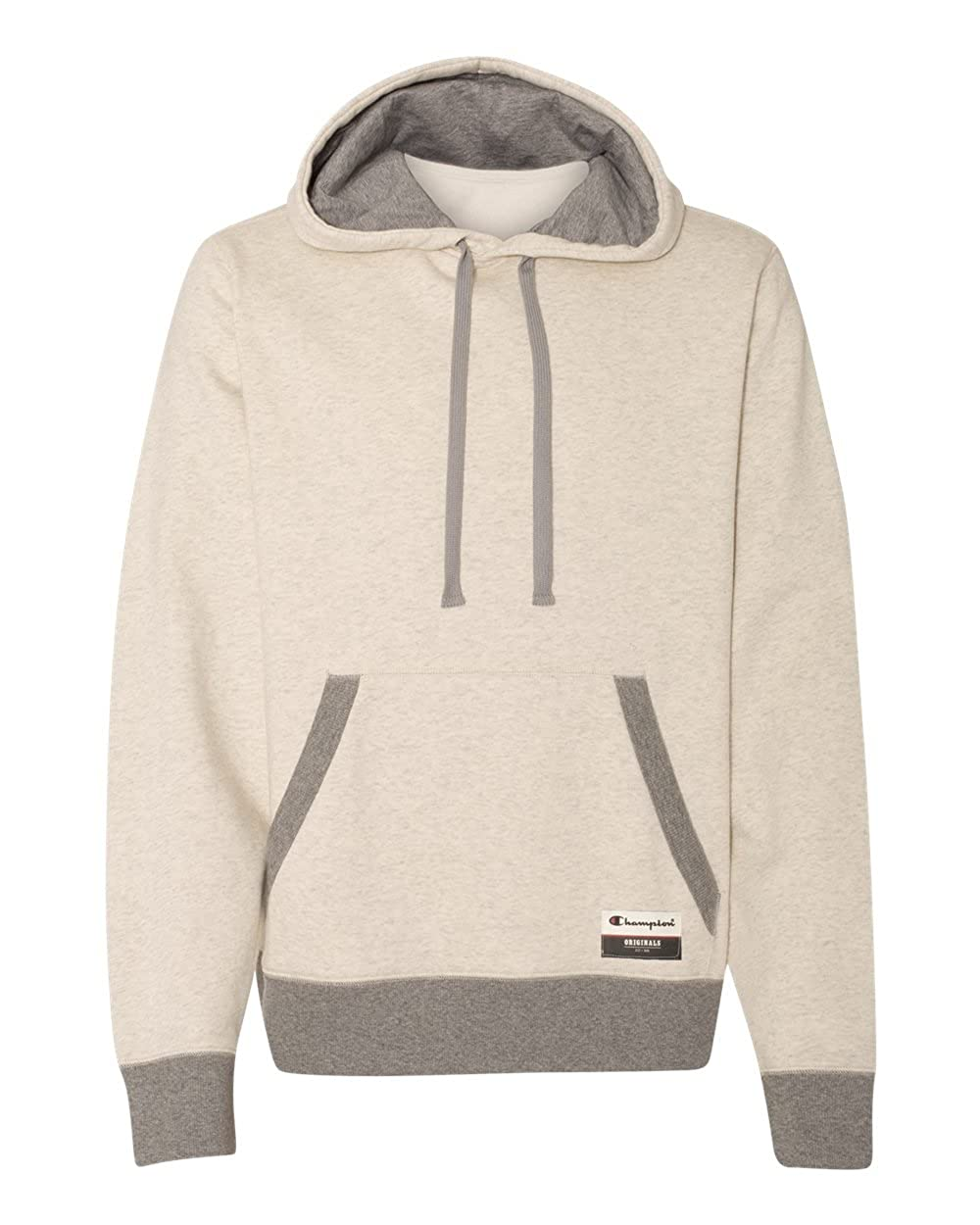 Champion Men's Authentic Originals Sueded Fleece Pullover Hoodie Champion Branded Printwear OAO60