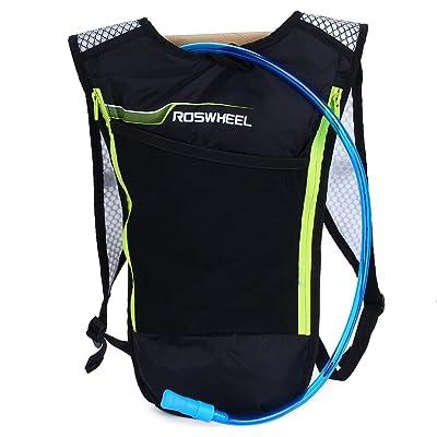 5L Vélo hydratation Sac à dos ultraléger multifonction Sac de vélo avec 2L d'eau vessie