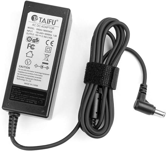 Cargador adaptador de corriente para LG 19M38A-B 24MP58VQ-P 25UM57 25UM58-P 29UM59-P Pantalla PC TV TV TV TV LG 32LF510B 32LF510B-DB 32LF510D 32LF510D-DB 32LF510B-SB 32LF510B-SD: Amazon.es: Electrónica
