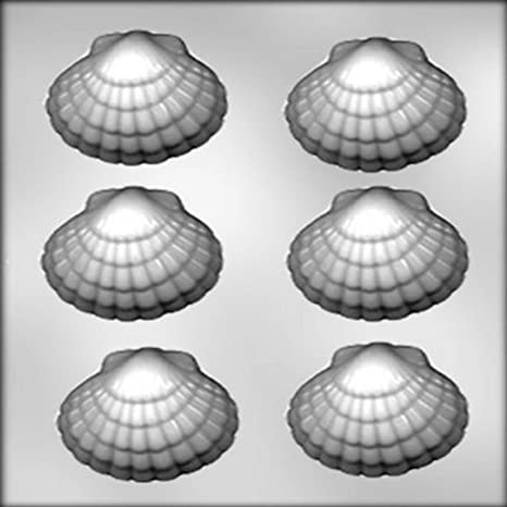 CK Products 3-Inch Seashell Chocolate Mold 90-12876