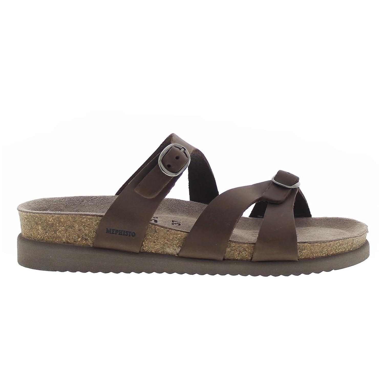 Dk Brown Mephisto Women's Hannel Sandals
