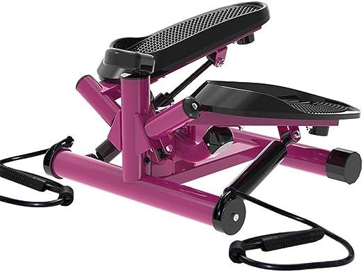 Steppers Máquina elíptica Escalera de gimnasia interior Stepper ajustable Mini Fitness Stepper Máquina de ejercicio Cardio Ejercicio Entrenador Girando Acción Equipo de gimnasio en casa Para ejercicio: Amazon.es: Hogar