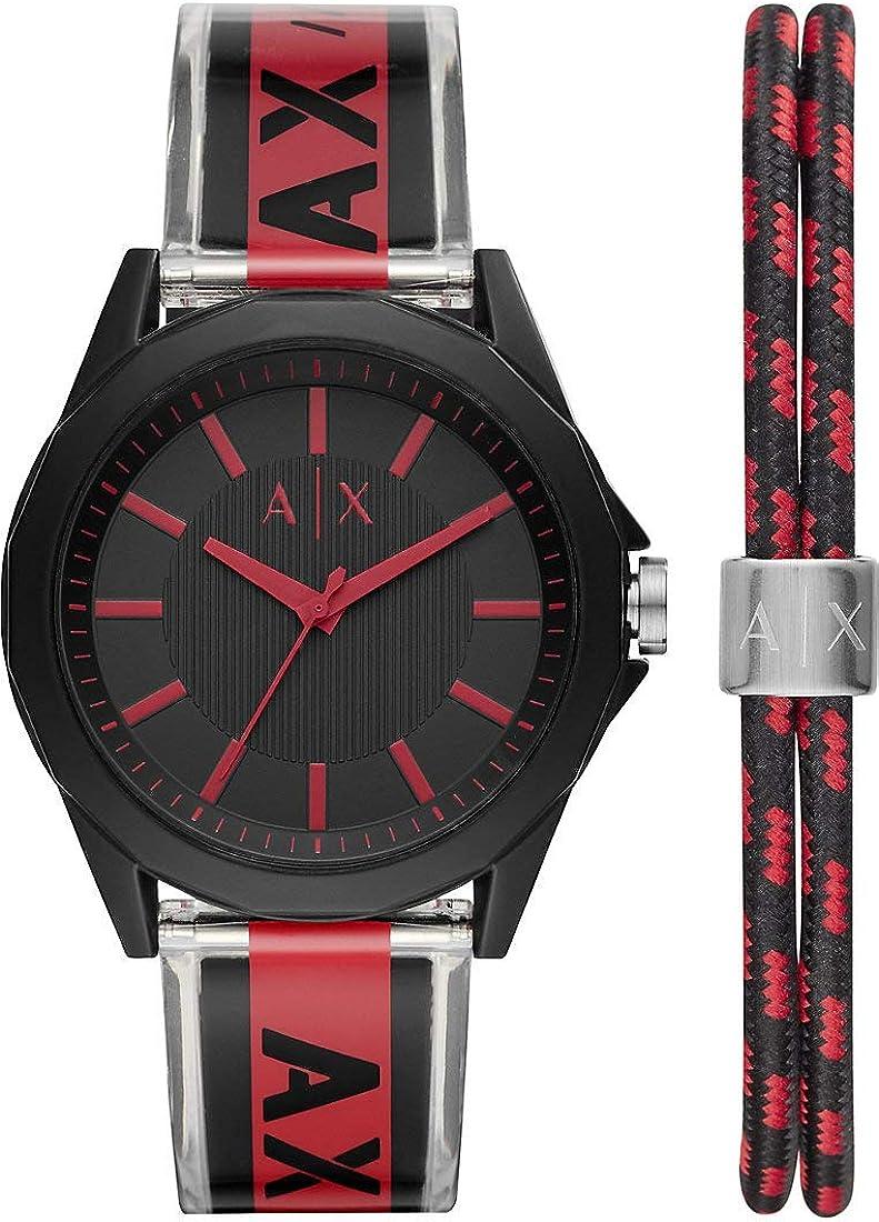 Armani Exchange - Reloj de Cuarzo analógico Casual para Hombre - AX7113