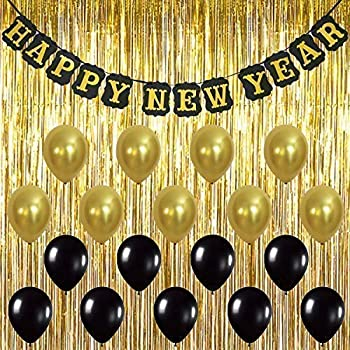 KatchOn Happy New Year Banner Decorations \u2013 Pack of 20, Sturdy