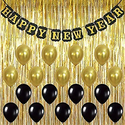 Amazoncom Katchon Happy New Year Banner Decorations Pack Of 20