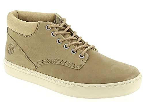 3c37b5461 Timberland Mens Adventure 2 0 Cupsole Chukka Trainers in Beige-Lace ...