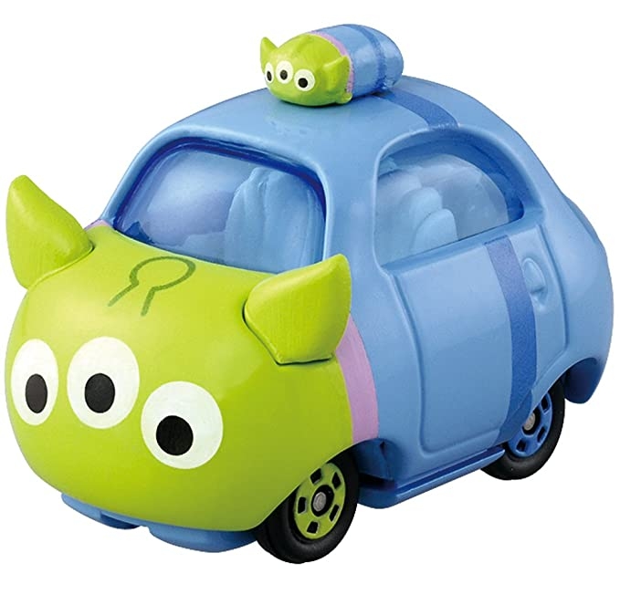 Amazon.com: Takaratomy Tomica Disney Motors Tsum Tsum DMT-03 Mini Car Figure with Top, Alien: Toys & Games