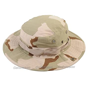 Flagger-Men hat Women hat Hunting hat Boonie Hat Wide Brim Camouflage Bucket  Sun Cap c0a8a2ed2