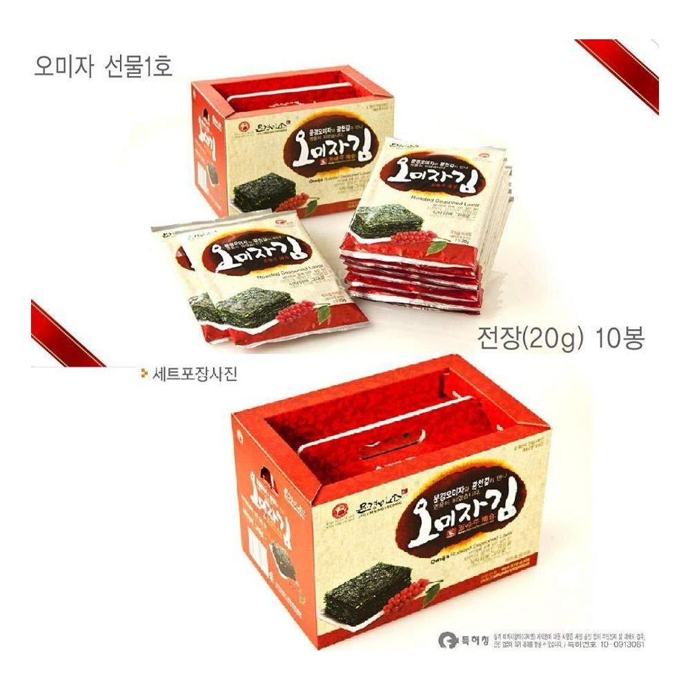 Mungyeong Korea Omija Seaweed Full Size(20g) x 10packs by Mungyeong MISO