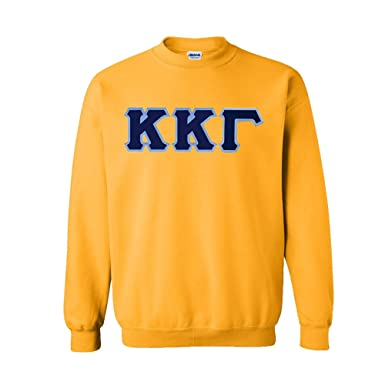4e6fd3f0 Amazon.com: Greekgear Kappa Kappa Gamma Lettered Crewneck: Clothing