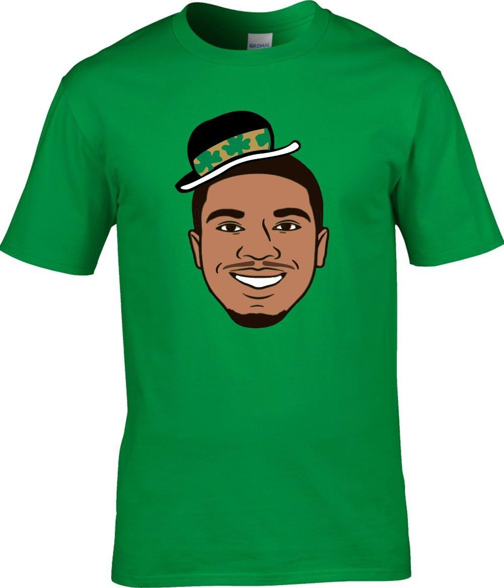 Green Boston Tatum Face Pic Tshirt
