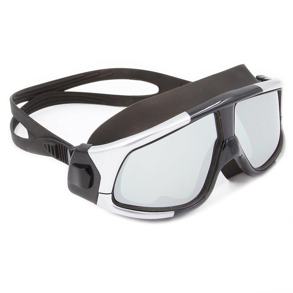 4c0afa6bcc KERVINZHANG Gafas de natación Lente de Cristal antivaho Gugoguru protección  UV Chapado para Principiantes de Buceo Buceo de silicio (Color : 5):  Amazon.es: ...