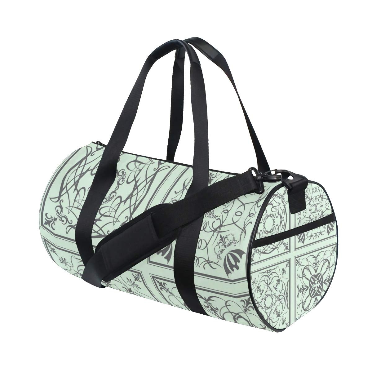 Differentiated Ceramic PictureWaterproof Non-Slip Wearable Crossbody Bag fitness bag Shoulder Bag