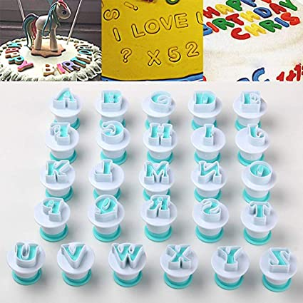 Marvelous Buy Hasthip Letter Molds For Fondant 26Pcs Upperlowercase Funny Birthday Cards Online Hendilapandamsfinfo