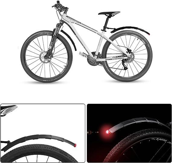 XCSOURCE MTB bicicleta telescópico juego de guardabarros para ...
