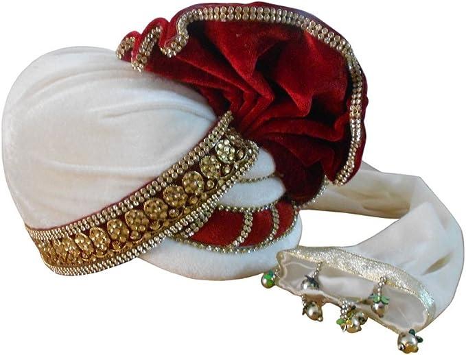 Indian Men Hat Sherwani Safa Groom Wedding Turban Handmade Designer Pag Royal MultiColor Traditional  Pagri