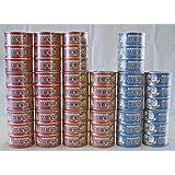 猫缶48缶セット 愛情猫家族シリーズ 170g×3缶パック 全3種類16パック