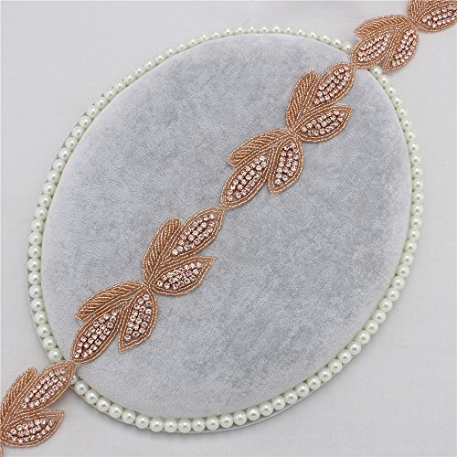 [Hot Fix Rhinestone Trimming Lovely Butterfly Patterns for DIY Clothes Bags Hats(Rose Gold)] (Easy Diy Plus Size Halloween Costumes)