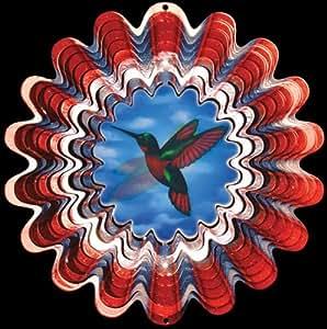Exterior/interior hilandero del viento - antepuerta colibrí