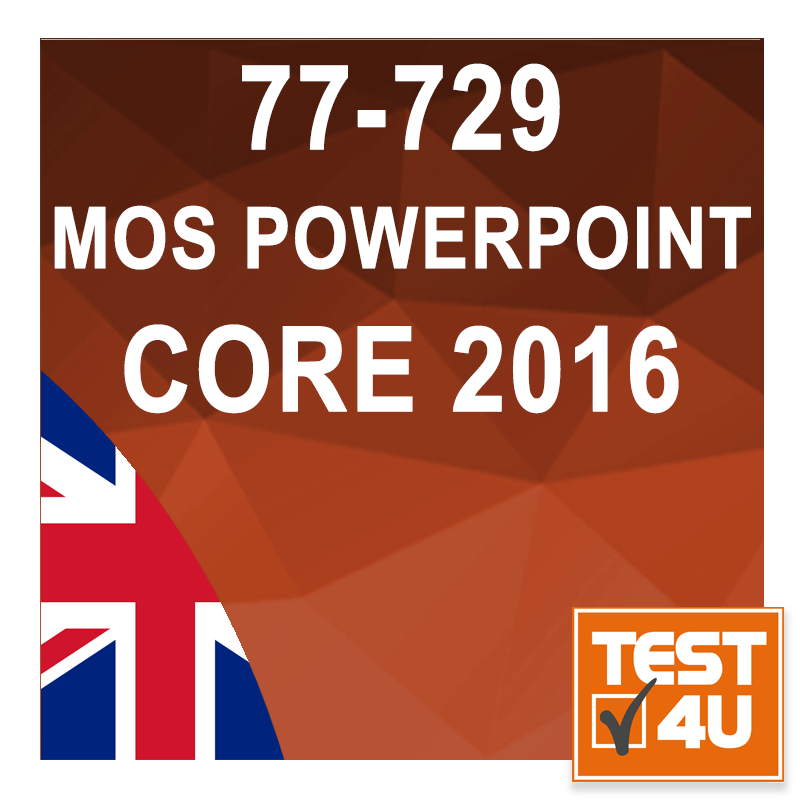 77-729 Microsoft Office Specialist Powerpoint Core 2016 - English version [Download]