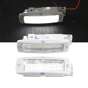 nslumo directa Fit para Superb (02 - 13) Bright 6000 K Xenon Blanco Repuesto de bombilla LED de interior Roof Cúpula Luz: Amazon.es: Coche y moto