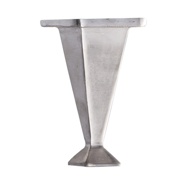 Richelieu Hardware - 5600150 - Contemporary Furniture Leg - 56001-5.5 in - Polished Aluminum Finish