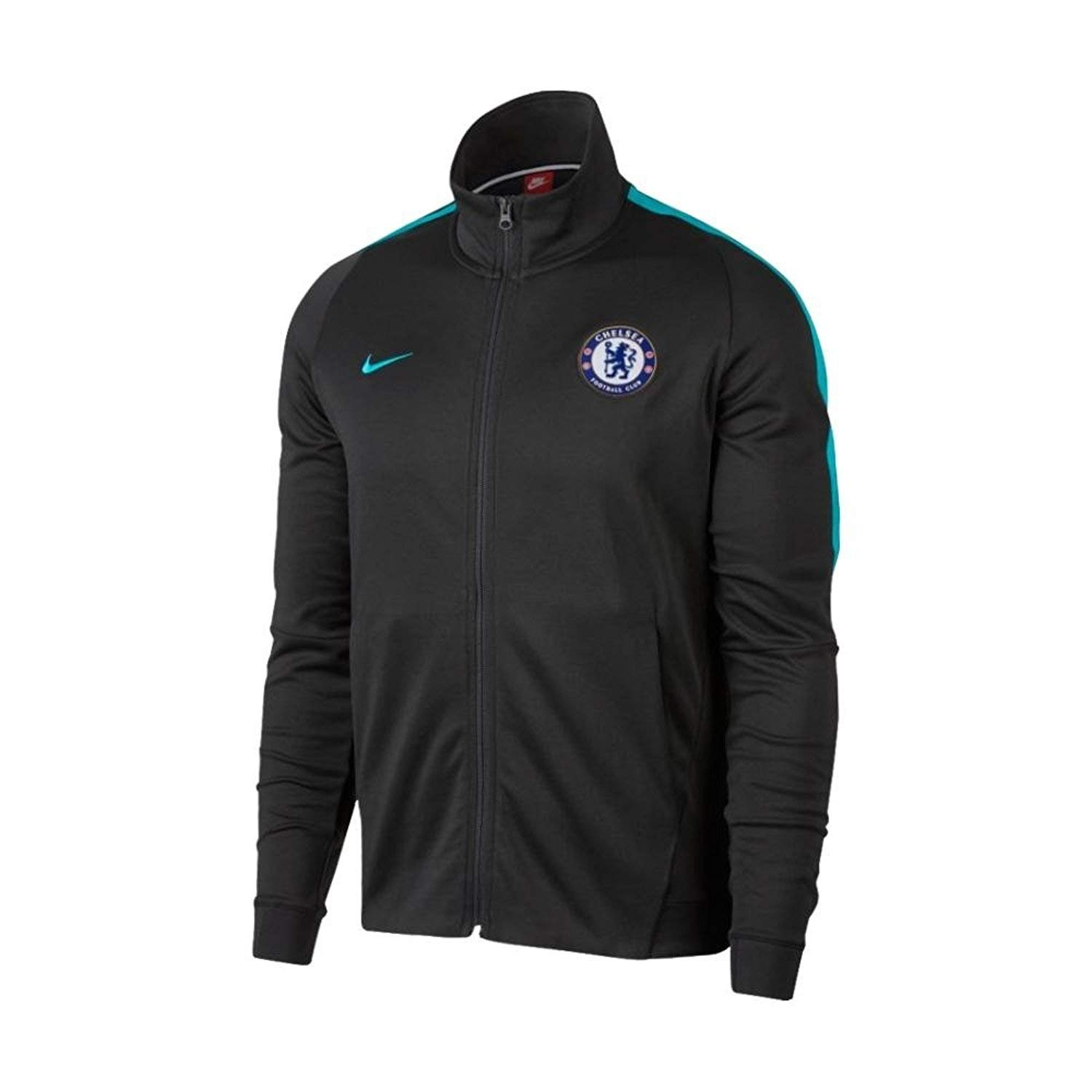 2017 2018 Chelsea Nike Authentic Track Jacket (Anthracite