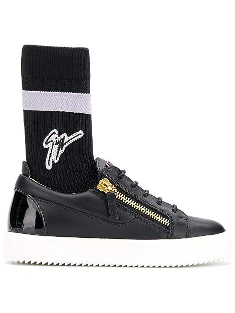 Sneakers Rw80036001 Donna Design Giuseppe NeroAmazon Zanotti Pelle N8nOv0mw