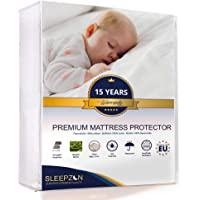SLEEPZEN Protège Matelas Imperméable - Molleton 100% Coton, Made in UE - Garantie 15 Ans