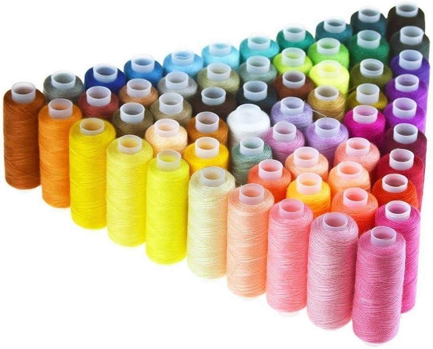 Bobinas de hilo de coser poliéster, de Candora®, multiusos, para ...