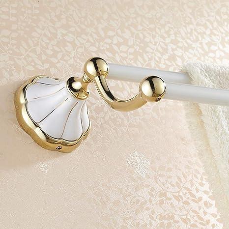 GYL MAOJINJIA LWFB Toallero/Perforadora de Cobre Marco de Toalla/Toallero de baño Estante