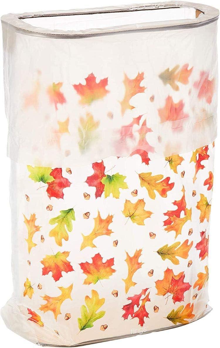 Amscan Harvest Pop-Up Trash Bin, Multicolor