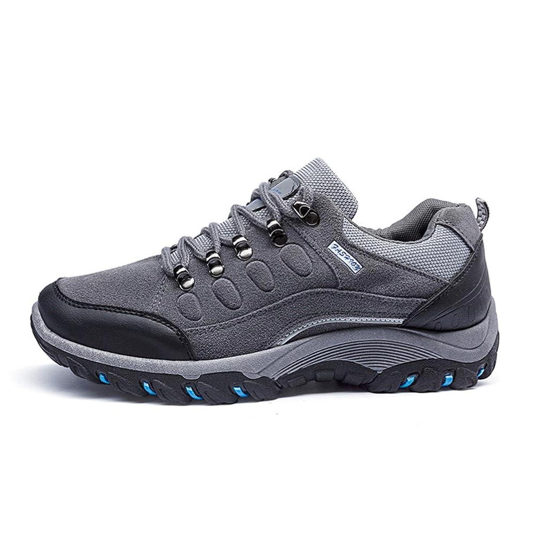 Fami Sneakers da Uomo all'aperto Sport Escursionismo Scarpe Antiscivolo Impermeabili Casuali (41, Grigio)