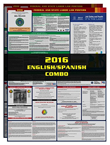2017 Pennsylvania State and Federal All-in-one Labor Law Poster - English / Spanish Combo