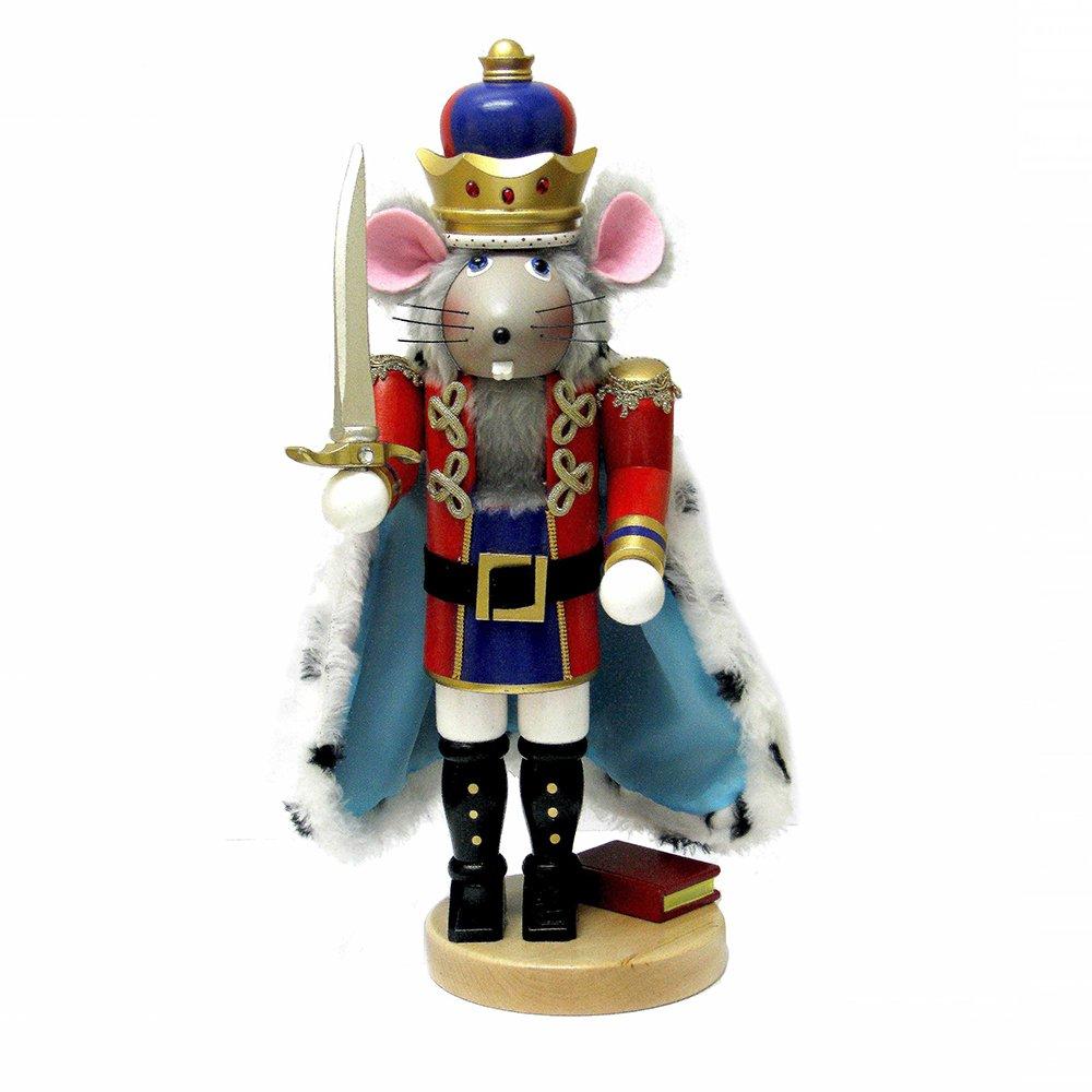 Kurt Adler 17.5'' Steinbach Mouse King Nutcracker