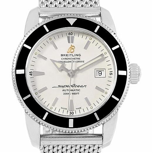 Breitling Superocean automatic-self-wind Mens Reloj a17321 (Certificado) de segunda mano: Breitling: Amazon.es: Relojes