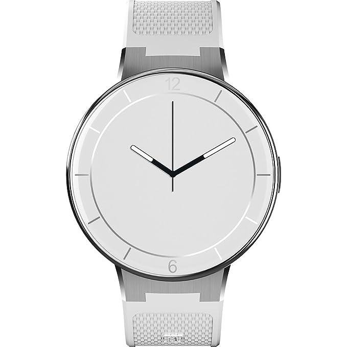 Alcatel - Reloj Inteligente (tamaño pequeño/Mediano), Color Blanco ...