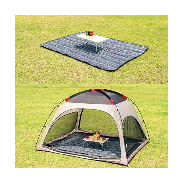 61yrX qnm7L Extsud Outdoor Camping Picknick Matte Feuchtigkeit Pad Ethnische Art Tragbare Picknick Decke Wasserdicht Campingdecke…