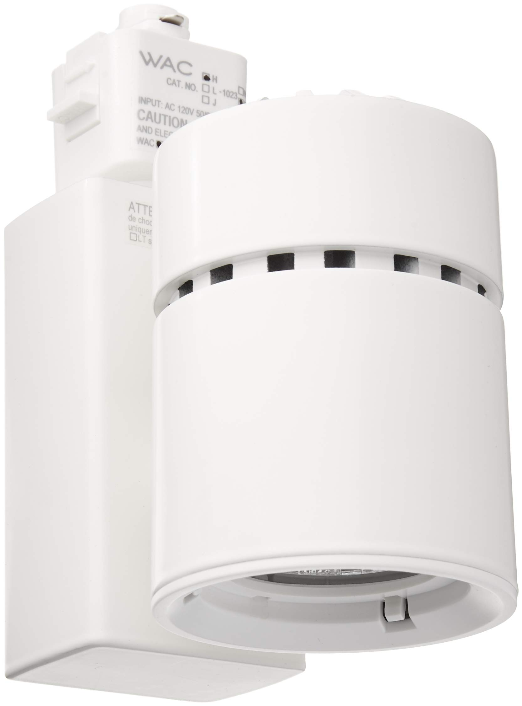 WAC Lighting H-1023F-930-WT H Series LED1023 Exterminator II LED Energy Star Track Head in White Finish, Flood Beam, 90+CRI and 3000K