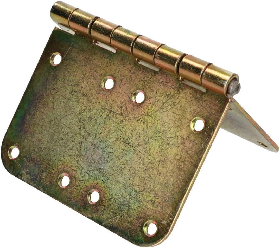 KOTARBAU Kistenband 150 x 100 mm Gerollt Tischband M/öbelscharniere M/öbelband Verzinkt Oval Torband Scharniere T/ürband Kistenband Schrankscharniere