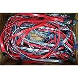 """Interloper Straight Tip x2, Lock x2 SATA Cables (Lot Of 5) approx. 20""""-21"""" SATA Cables, Straight Tip x2, Lock x2, approx. 20""""-21"""""""