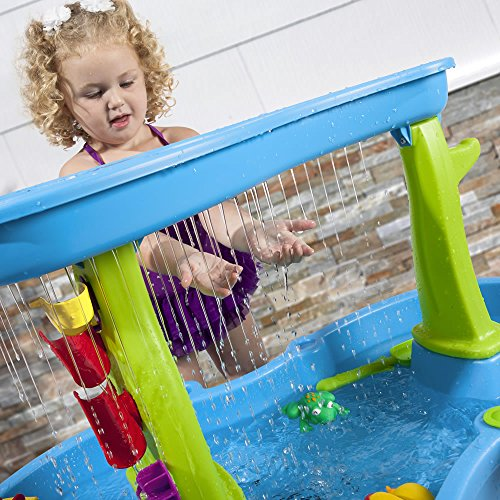 61yrZ8f UGL - Step2 874600 Rain Showers Splash Pond Water Table Playset, Small Pack, Multi-Colored