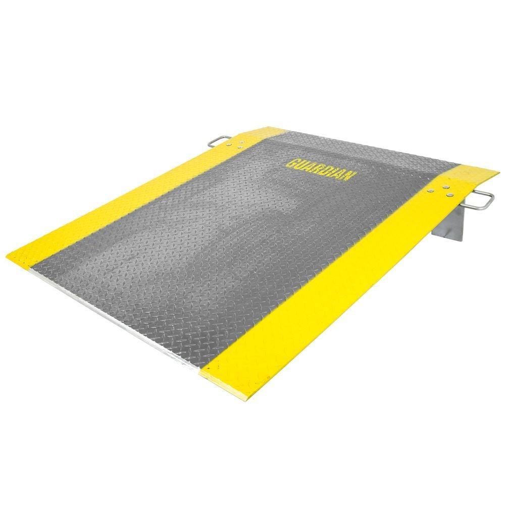 Rage Powersports ADP-6048-1800 60' x 48' Aluminum 2,500 lb Pallet Jack Loading Dock Plate
