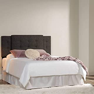 product image for eLuxurySupply Magnolia Universal Sized Headboard - Upholstered Headboard with Contemporary Button Tuft Design - Fully Adjustable Width and Height - Easy Installation - Grey Color