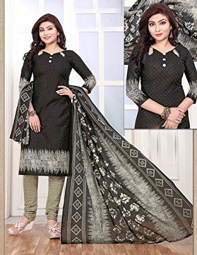 Designer Partywear Traditonal Indian Black Women Kameez Ethnic Da Salwar Facioun qw6ZUn4T